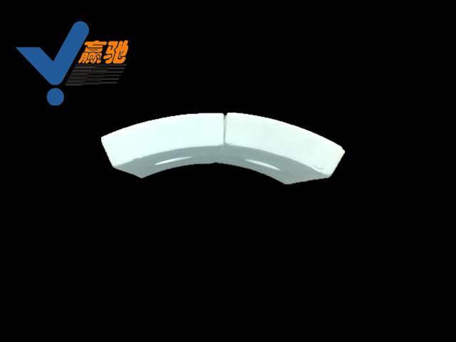 弧形耐磨陶瓷襯板